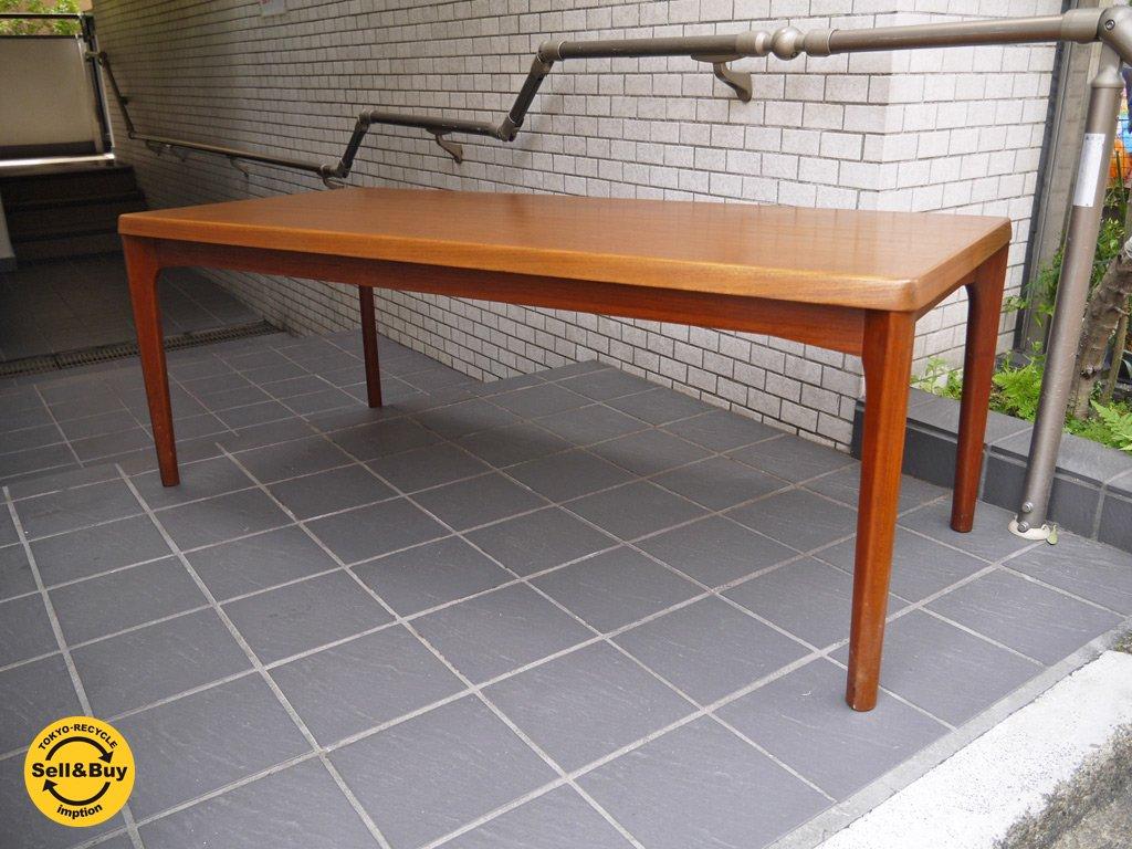 Vejle Stole & Mobelfabrik ビンテージ チーク材 コーヒーテーブル センターテーブル Henning Kjaernulf デンマーク ■