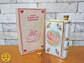 カミュ CAMUS ナポレオン ブック 700ml 40% 陶器ボトル ブランデー 未開栓 元箱付 ●