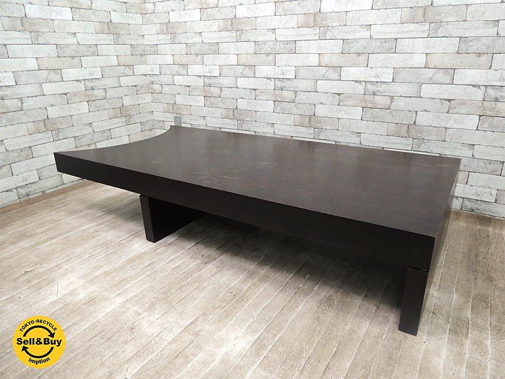 ズマーニア SMANIA MASTERコレクション カプリス CAPRICE コーヒーテーブル *バーテーブルと組み合せ可 サァラ麻布 イタリア ●