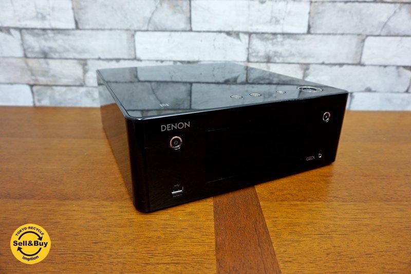 デノン DENON CDレシーバー RCD-N9 Bluetooth & NFC対応 リモコン無し 2016年製  ●
