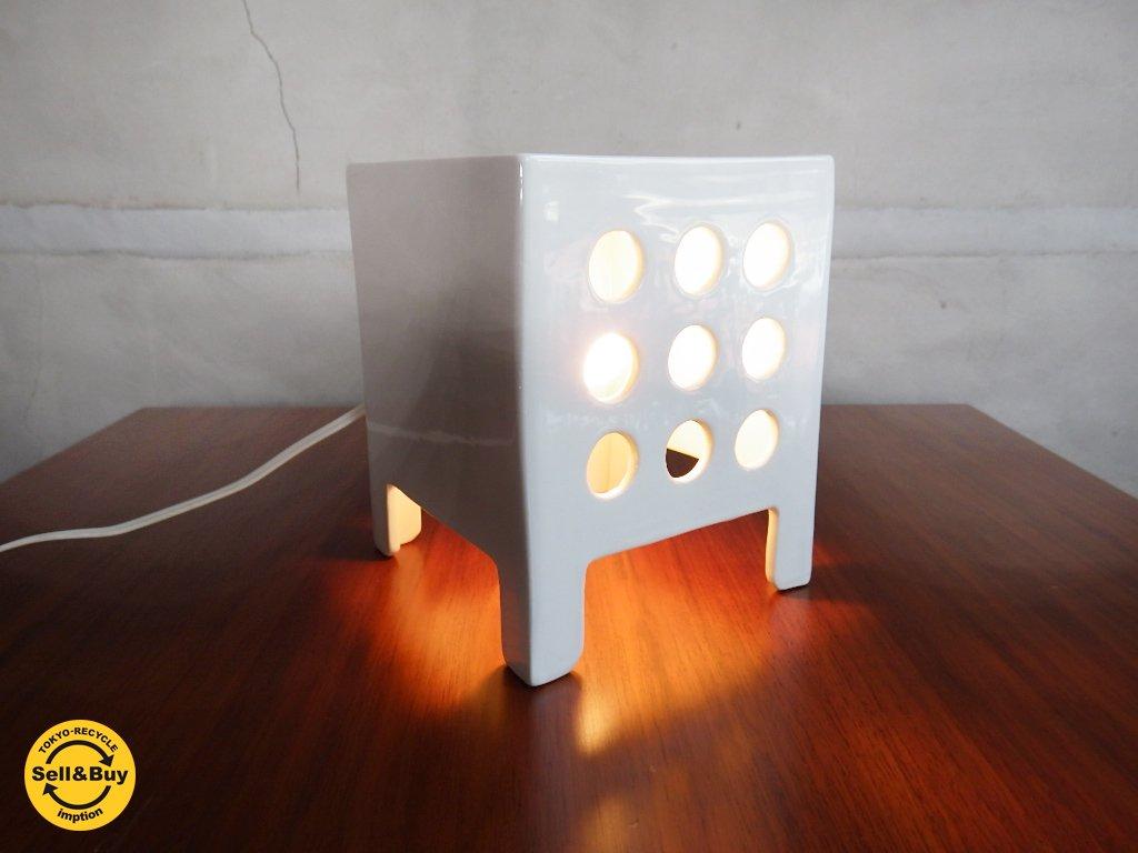 イデー IDEE 陶製 置き型ライト デザイン照明 A ♪
