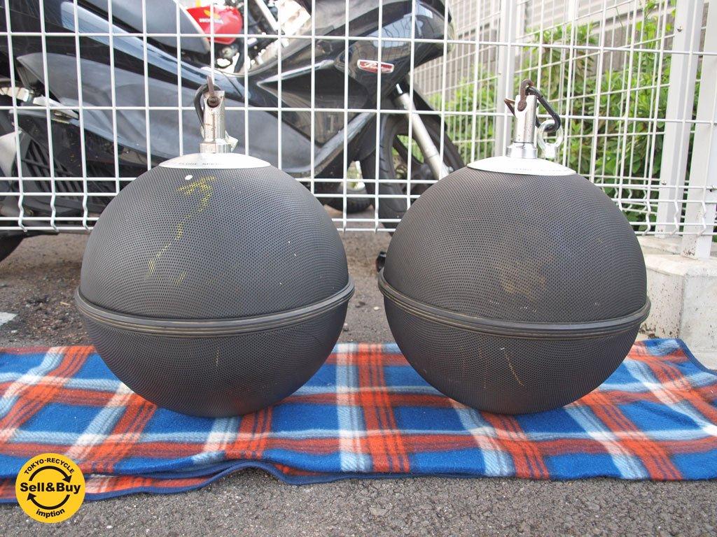 ビクター Victor グローブスピーカー GLOBE SPEAKER SYSTEM GB-1H 全無指向性 天井ボール型 球体型 スピーカー ペアセット ★