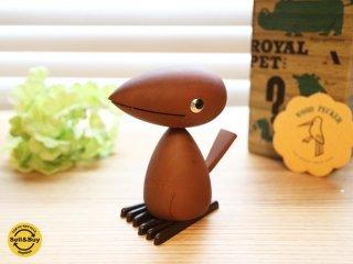ロイヤルペット ROYALPET キツツキ WOOD PECKER 鳥  木製玩具 箱付 ◎