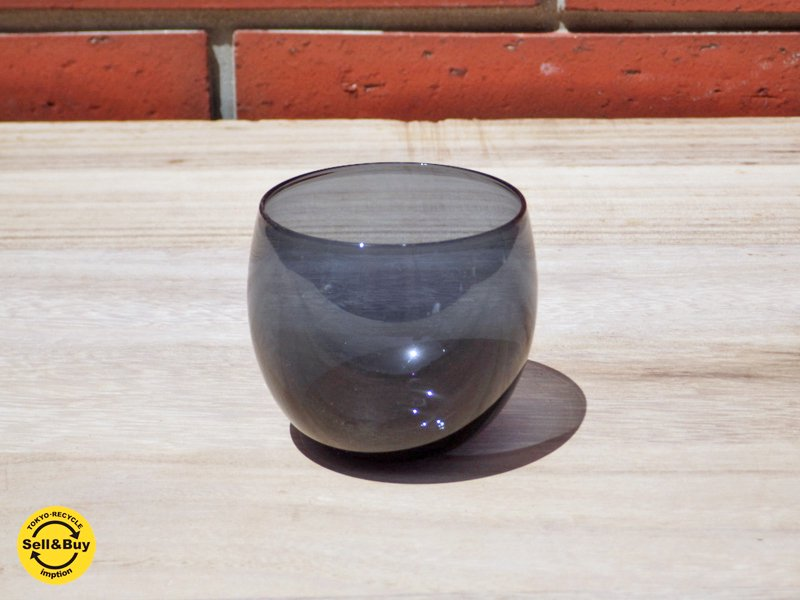 ヌータヤルヴィ Nuutajarvi マルヤ カクテルグラス Marja Cocktail Glass サーラホペア デザイン Saara Hopea ブルー ●