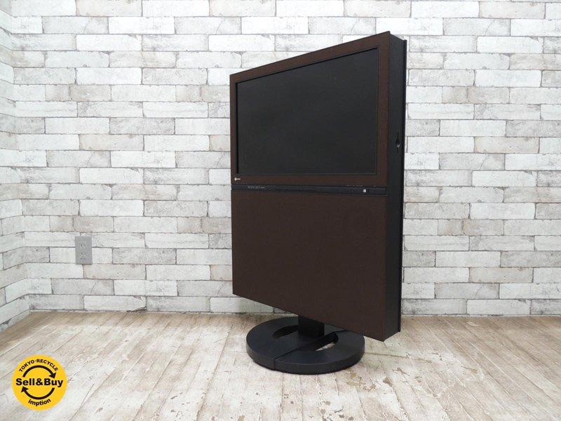 エイゾー EIZO 旧ナナオ フォリス FORIS.TV DVDプレーヤー付液晶テレビ SC26XD2 ダークブラウン 2007年製 26インチ 高さ4段階調整可能 川崎和男 ◇