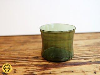 イッタラ iittala i-104 ドリンキング グラス Drinking glass ビンテージ ティモ・サルパネヴァ レアカラー グリーン B ◎
