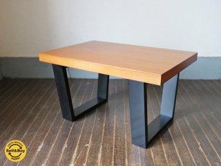 ランドスケーププロダクツ Landscape Products スクエアレッグテーブル SQUARE LEGS TABLE チーク材 希少廃番 Sサイズ ◎