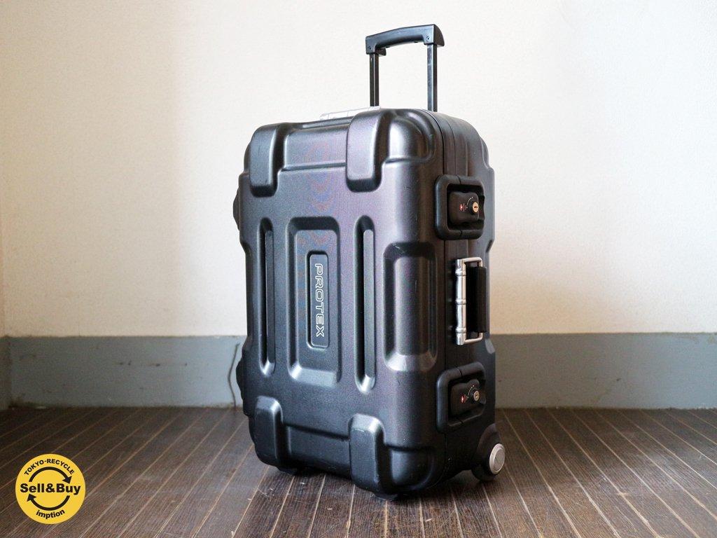 プロテックス PROTEX トラベルキャリー FP-32N ハードキャリーケース スーツーケース 40L 鍵付き ブラック ◎