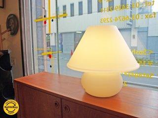 リンブルグ LIMBURG サテンオパール ガラス テーブルランプ フロアランプ S8508 2014年製 ヤマギワ取扱 ★