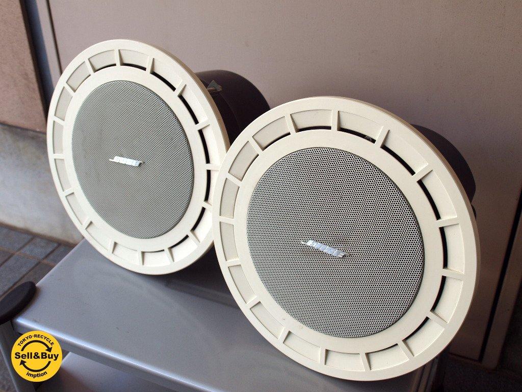 ボーズ BOSE 32�L 4Ω フラッシュマウント スピーカー 2個セット ペア 天井埋め込み型 ★