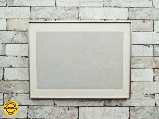 ジョセフ・アルバース Josef Albers Formulation Articulation - P1 F12 I1 シルクスクリーン ポスター 額装 ●