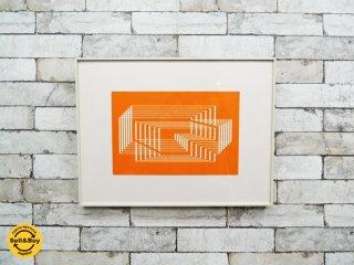 ジョセフ・アルバース Josef Albers Formulation Articulation - P1 F31 I1 シルクスクリーン ポスター 額装 ●