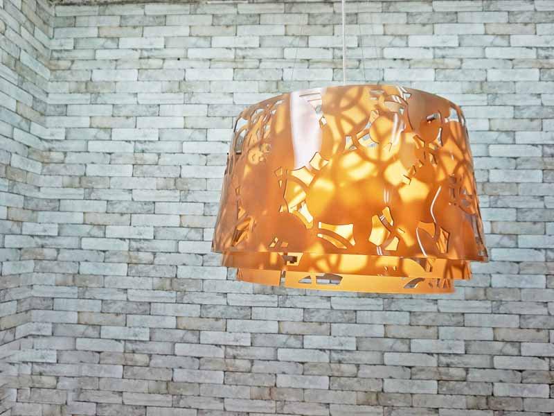 ルイスポールセン Louis Poulsen コラージュ Collage ペンダントライト 600 スモークベージュ デザイン:ルイーズ・キャンベル ●