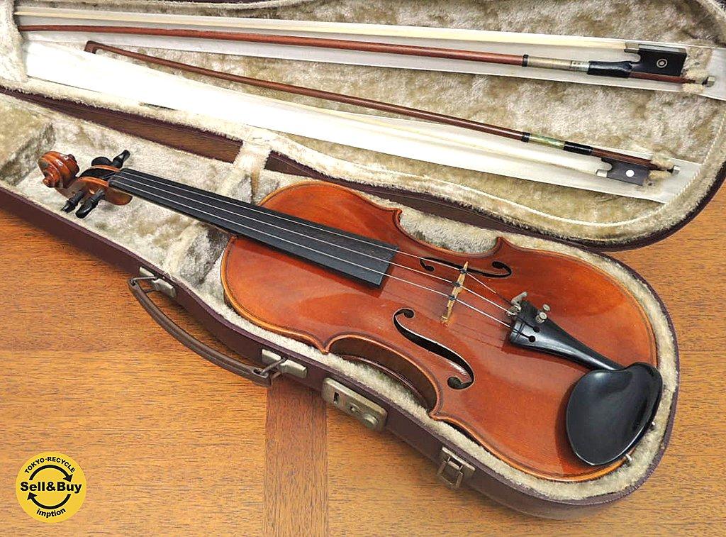 エルンストハインリッヒロート Ernst Heinrich Roth バイオリン 1963年製 ガルネリ 1734モデル 4/4サイズ 弓2本 ハードケース付 ドイツ ●