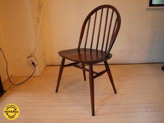 アーコール Ercol フープバック チェア Hoop back chair イギリス UK ビンテージ 曲木 ★