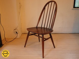 アーコール ERCOL クエーカーチェア Quaker chair エルム材 UK Vintage イギリス UK ビンテージ ★