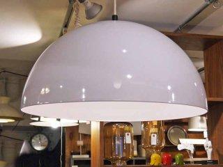 フロス FLOS エナメル ペンダントライト 半球型 ホワイト 直径50cm ■
