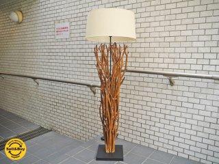 アクメファニチャー ACME Furniture オリジナル家具 フロアライト 流木風 ラタン材 ■