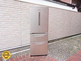 パナソニック Panasonic 315L 冷凍冷蔵庫 シルバー NR-C32EML-N 2016年製 左開き エコナビ 省エネ設計 スリム ●