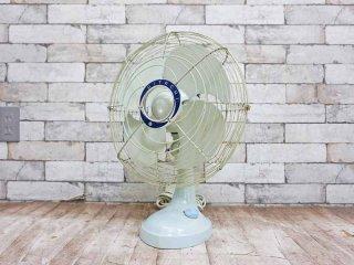 日立 HITACHI 70`s ヴィンテージ デスクファン 扇風機 昭和レトロ ●