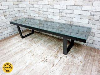 ジョージ ネルソン George Nelson プラットフォーム ベンチ Platform Bench テーブル リプロダクト ブラック ●