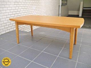 ウニコ unico ホルム HOLM リビング ローテーブル W90cm チーク色 北欧スタイル ■
