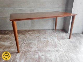カリモク60+ ダイニングテーブル 1500 ウォールナットカラー ♪