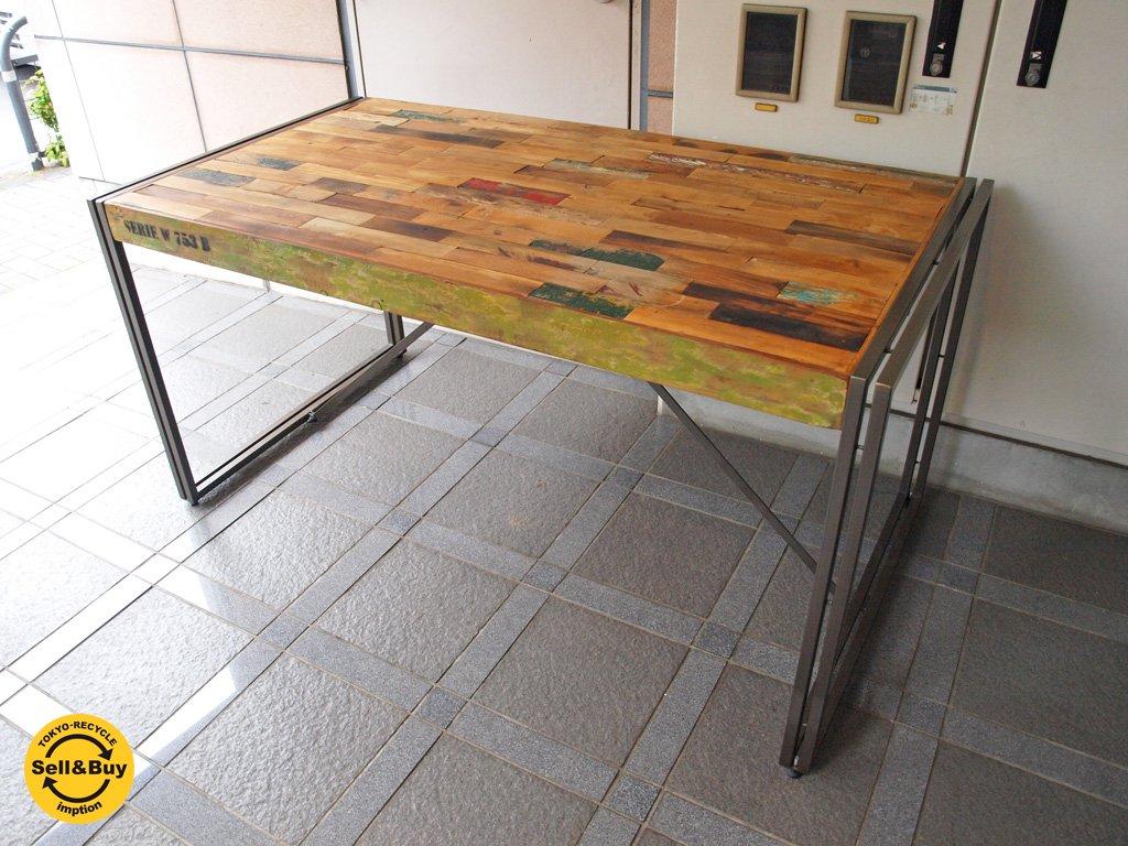 ディーボディ d-Bodhi フェルム インダストリアル FERUM INDUSTRIAL ダイニングテーブル W150 ★