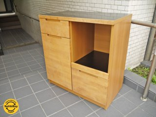 ウニコ unico ワイス WYTHE キッチンカウンター オープン メラミントップ ■