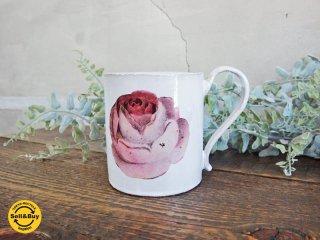 アスティエ・ド・ヴィラット Astier de Villatte ジョン・デリアン JOHN DERIAN 薔薇のカップ ♪