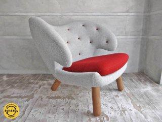 ワンコレクション Onecollection ハウスオブ フィン ユール HOUSE OF FINN JUHL ペリカンチェア ボタン付き Pelican Chair with buttons 美品♪
