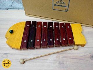 ボーネルンド BorneLund おさかなシロフォン 木琴 知育玩具 楽器 ●