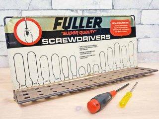 フラー FULLER ドライバーラック 工具入れ 壁掛け USビンテージ ●
