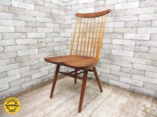 ジョージ・ナカシマ 桜製作所 New Chair ニューチェア (A) ウォールナット無垢材 nakashima 桜 SAKURA MADE IN JAPAN 焼印入り ●
