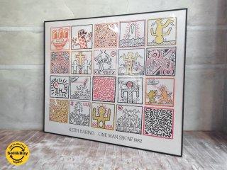 キース・ヘリング Keith Haring ワンマンショー One Man Show ポスター ♪