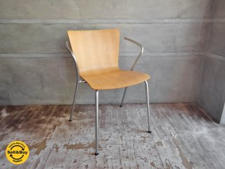 フリッツハンセン Fritz Hansen ヴィコデュオチェア VICODUO chair ビーチ材 ヴィコ・マジストレッティ Vico Magistretti デンマーク ♪