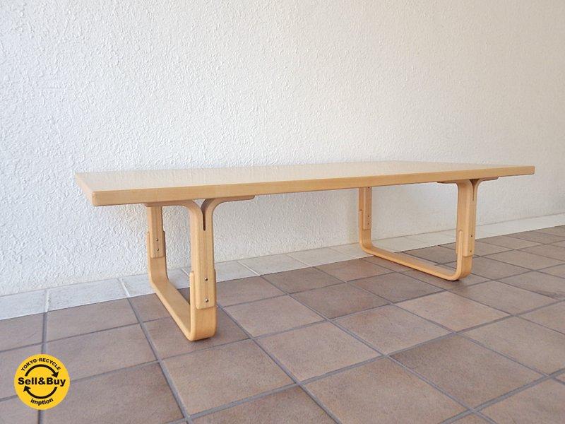 天童木工 Tendo ブルーノマットソン Bruno Mathsson デザイン Mシリーズ テーブル スウェディッシュモダン 現行品 状態良好 ◇