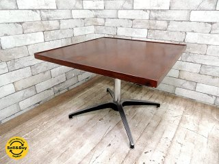 パシフィックファニチャーサービス PFS サイドテーブル スクエア コーヒーテーブル カフェテーブル レトロ インダストリアル A ●