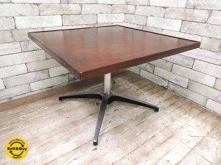 パシフィックファニチャーサービス PFS サイドテーブル スクエア コーヒーテーブル カフェテーブル レトロ インダストリアル B ●