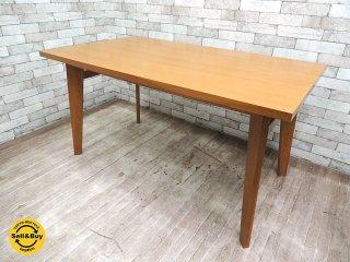 ウニコ unico コルソ CORSOオーク材 ダイニングテーブル w138cm ナチュラルモダンデザイン ◎