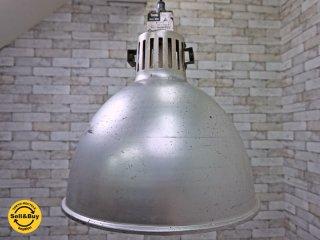 UKビンテージ インダストリアルスタイル ファクトリーペンダントライト 1灯 照明 ●