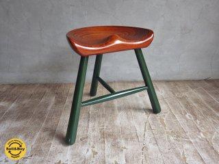 ワーナー Werner シューメーカー スツール Shoemaker stool 3本脚 キッズチェア デンマーク ♪