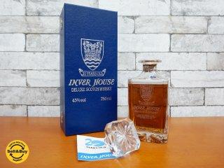 インバーハウス INVER HOUSE 20年 ウィスキー 750ml 未開栓 箱付き 古酒 ●