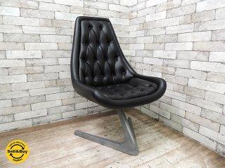 クロームクラフト CHROMECRAFT ビンテージ ユニコーンチェア Unicorn chair ウラジミールケーガン Vladimir Kagan スタートレック B ●