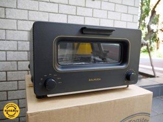 バルミューダ BALMUDA ザ トースター The Toaster スチームトースター K01E-KG ブラック 2018年製 未使用 箱付き ■