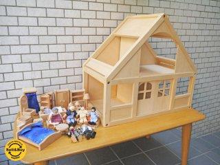ボーネルンド Bornelund マイドールハウスセット 木製おもちゃ 玩具 おままごと 北欧 スウェーデン ■