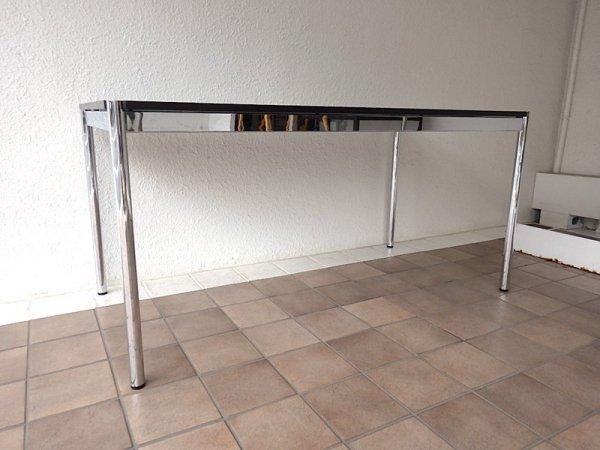 USMモジュラーファニチャー USMハラー テーブル USM Haller Table オーク材 ブラック 定価:11.3万〜 ダイニングテーブル オフィス デスク MoMA ◇