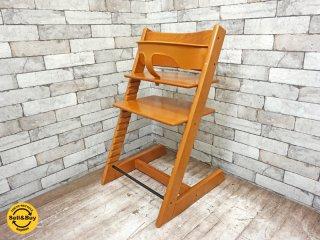 ストッケ STOKKE ベビーチェア 子供椅子 キッズチェア ステップアップチェア 新型 & ガード付き トリップトラップ TRIPP TRAPP チェリーカラー 正規品 ◇