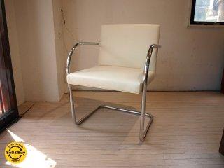 ノル スタジオ KNOLL Studio ノール ブルーノチェア Brno tubular chair ミース・ファン・デル・ローエ  カンチレバー 正規品 ★
