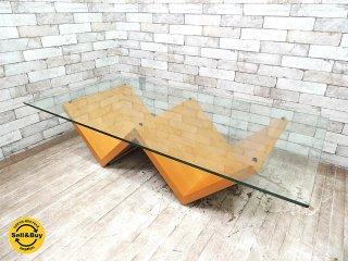 アルフレックス arflex モンターニャ MONTAGNA センターテーブル W150cm 川崎文男 ●